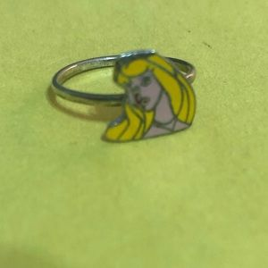 Disney princess aurora sleeping beauty ring sz 5-6